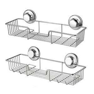 iPEGTOP Shower Caddy Bath Shelf - Best Bathroom Organizer: Withstand loads up to 8 kg