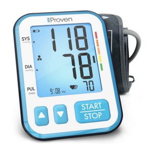 iProven Upper Arm Blood Pressure Monitor - Best Blood Pressure Monitors for Small Arms: Large display and number