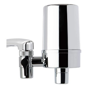 iSpring DF2-CHR Faucet Water Filter - Best Water Filter Kitchen Sink: It can filter hot water