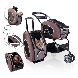 ibiyaya 5-in-1 Pet Carrier - Best Pet Dog Strollers: Perfect for Every Pet