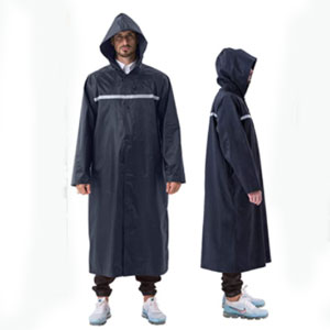 ioutdoor Rain Poncho with Hoods Sleeves - Best Raincoats for Festivals: Double Secures Raincoat