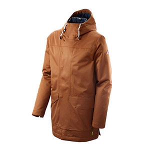 Kathmandu Stockton Men's Rain Jacket - Best Rain Jackets for Heavy Rain: Smooth, Sleek and Streamlined