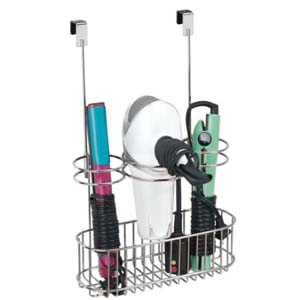 mDesign Over Door Bathroom Hair Care - Best Bathroom Organizer: Fits perfect to your cabinet