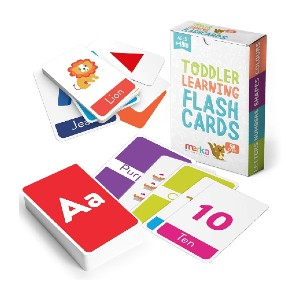 Merka Educational Flashcards for Toddlers - Best Flashcards for Preschoolers: Improve memory and concentration