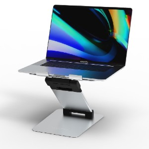 obVus Solutions Laptop Tower Stand - Best Laptop Stand for Desk: Ergonomic and Lightweight