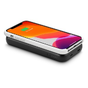 mophie Powerstation wireless XL Portable Battery - Best Wireless Charger for iPhone: Lightweight, Portable Design Fits Easily in Your Bag