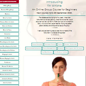 Waltons New School Introducing Tin Whistle - Best Online Tin Whistle Lessons: Deep Learning Courses