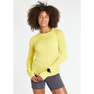 oiselle FLYOUT LONG SLEEVE - Best Base Layers for Heavy Sweating: Base Layer with Watch Window