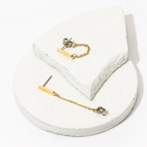 Tini Lux Roadtrip Hoops - Best Jewelry for Sensitive Ears: Water resistant