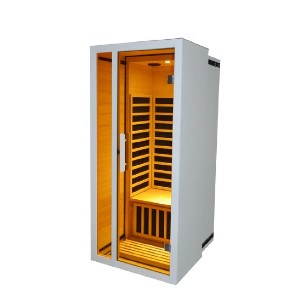 Royal Saunas Hongyuan Extendable Low EMF 1 Person FAR Infrared Sauna - Best Infrared Sauna for Home: Durable Sauna