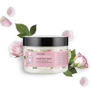 Love Beauty and Planet sugar & rose creamy body scrub - Best Body Scrub Exfoliator: Tickles Your Senses and Delivers Smooth