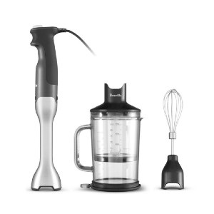 Breville The Control Grip - Best Immersion Blender for Soup: Anti-Suction Blending Technology