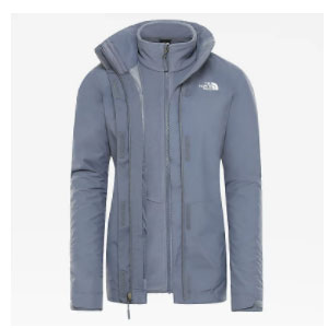 The North Face TRICLIMATE JACKET - Best Raincoats for College Students: Three Levels Of Protection