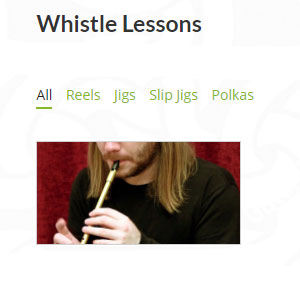 TradIrishMusic Whistle Lessons - Best Online Tin Whistle Lessons: Simple yet Helpful Lesson