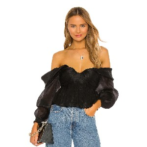 House of Harlow 1960 x REVOLVE Burna Blouse - Best Off The Shoulder Tops: Draws all eyes on you