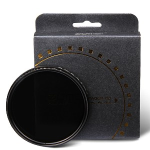 ZOMEI ND Filter Fader ND2-400 ND2-ND400 Filter - Best ND Filters for Night Photography: Double Anti-Reflective Coating