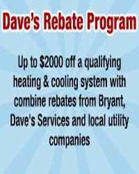 Daves Rebate Program