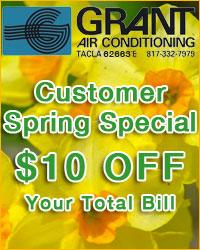 Customer Spring Special