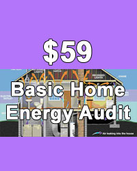Basic home energy audit
