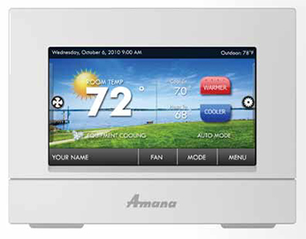 Digital TouchScreen Thermostat