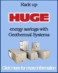 Rack up HUGE energy savings with Geothermal Systems