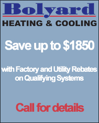 Save up to $1850 with Factory and Utility Rebates on Qualifying Systems Call for details.