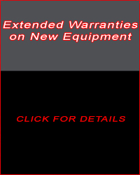 Extended Warranties on New Equipment