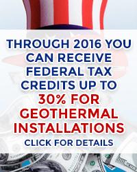30% Geothermal Rebates