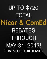 Nicor & ComEd Rebates