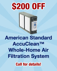 $200 Off American Standard AccuClean