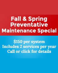 Fall & Spring Preventive Maintenance Special