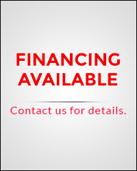 Financing Available!  Contact us for details.