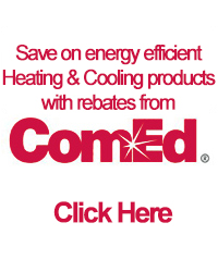 Save on energy efficient Heating & Cooling products with rebates from ComEd