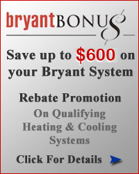 Bryant Bonus Rebates for Spring 2016