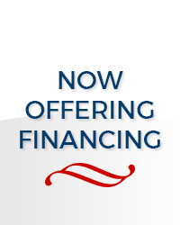 Now Offering Financing