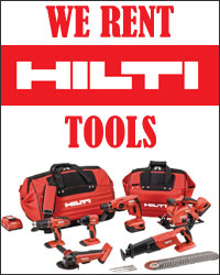 We Rent Hilti Tools