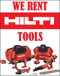 We Rent Hilti Tools