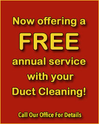 Free Annual Service With You Duct Cleaning