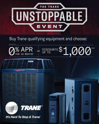 Trane 2018 Spring Promotion - TCS Dealers