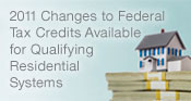 Tax Credits For Home Improvement
