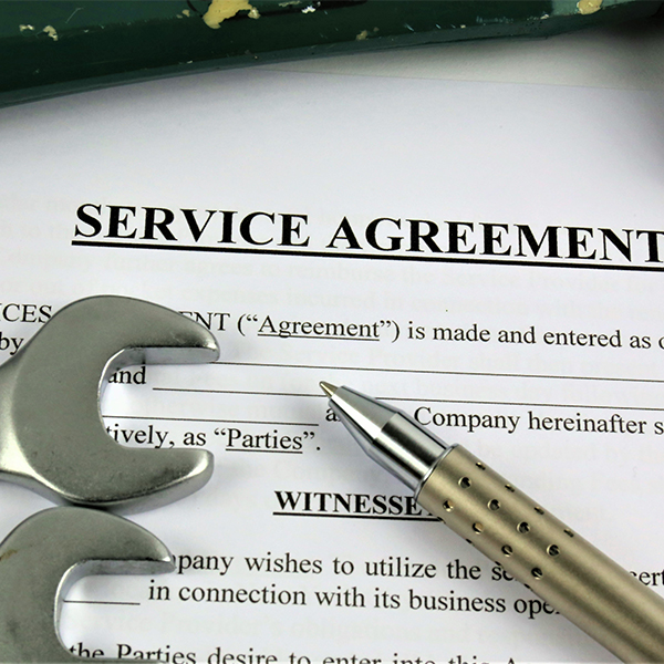 "Service Agreements -- ""The Smart Choice"""
