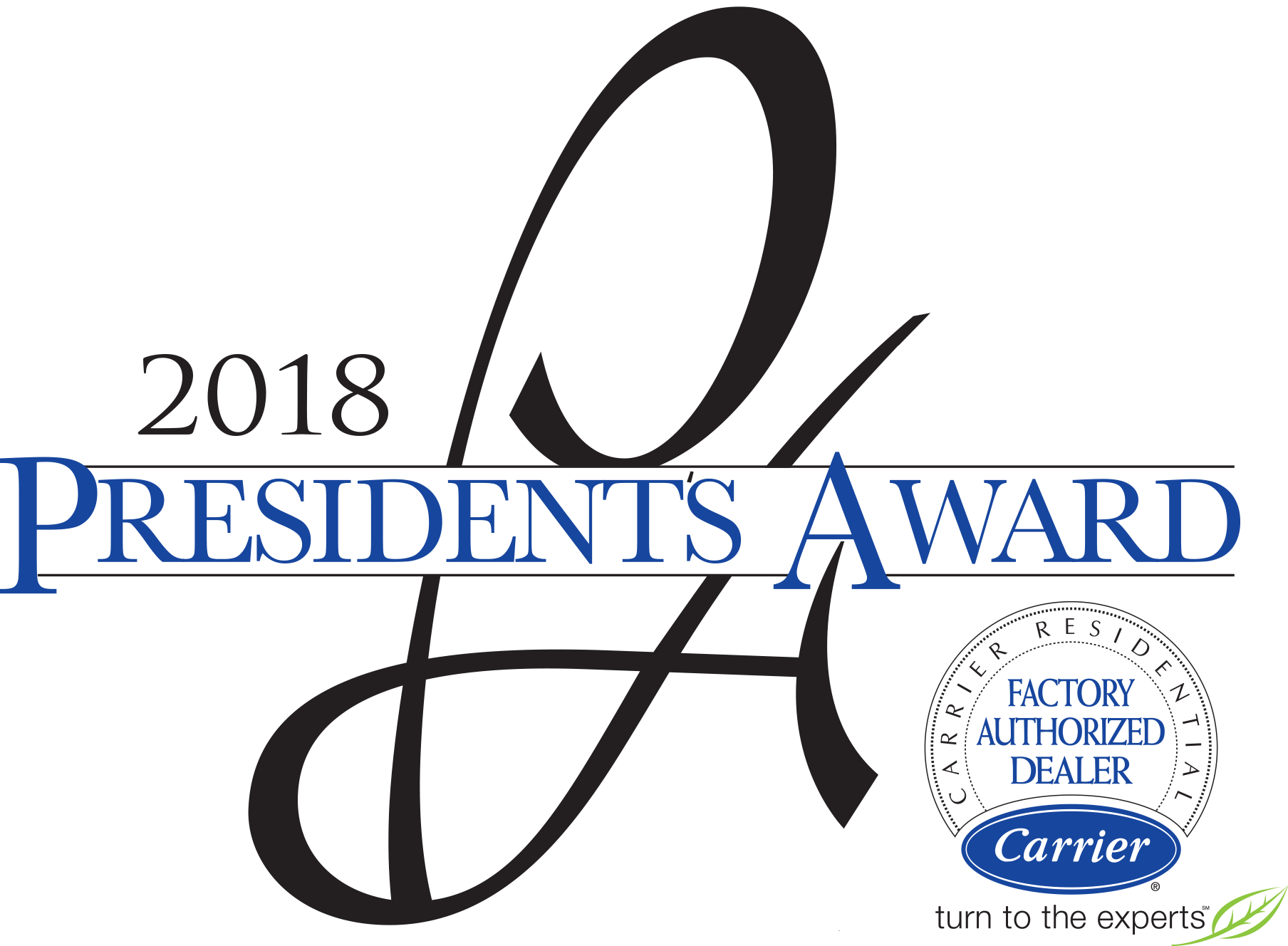 Carrier 2018 President's Award