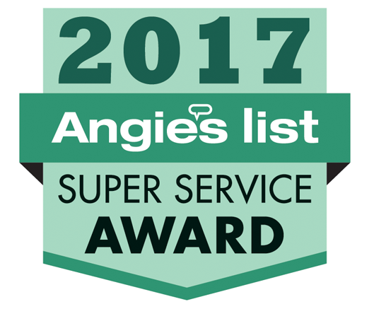 2017 Angie's List Superior Service Award