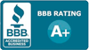 Monthie Mechanical Inc. has an A+ rating with Better Business Bureau