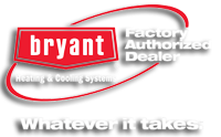 Bryant Factory Authrized Dealer Logo
