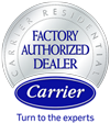 Carrier Factory Authorized Gold Dealer