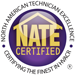 San Juan Heating is a NATE certified dealer