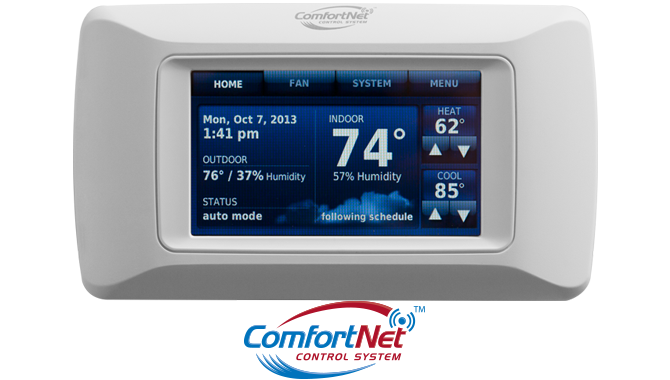 ComfortNet™  Communicating  Control System