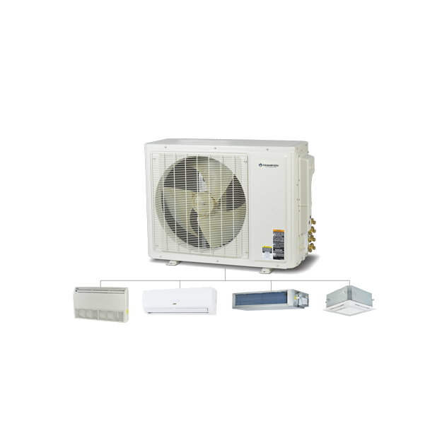 M Series Multi Zone Ductless Mini-Split System