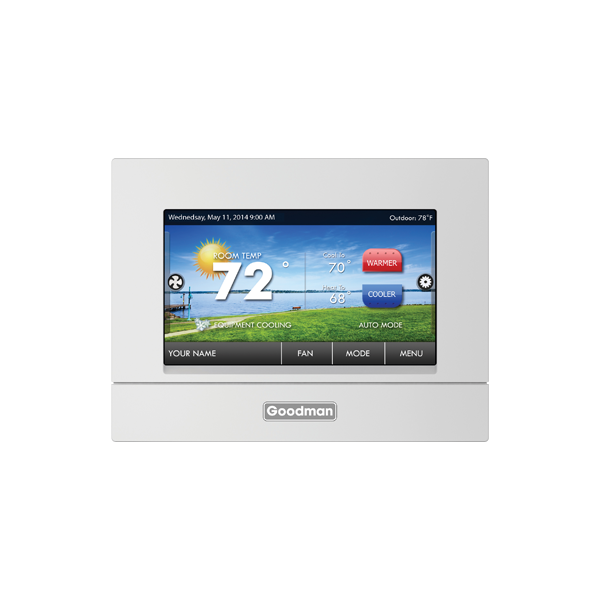 High Resolution Full Color TouchScreen Display Residential Digital Thermostat